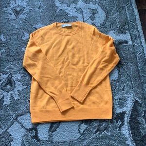 EUC Everlane cashmere sweater- tang